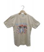 ROLLING STONES(ローリングストーンズ)の古着「[古着]ヴィンテージバンドTシャツ」 アイボリー
