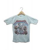fantasy(ファンタジー)の古着「[古着]ヴィンテージバンドTシャツ」 スカイブルー