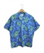 Sears(シアーズ)の古着「[古着]ヴィンテージアロハシャツ」|ネイビー