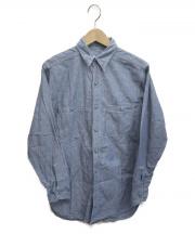 US NAVY [OLD]ヴィンテージシャンブレーシャツ