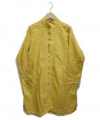 YACCO MARICARD(ヤッコマリカルド)の古着「シャツワンピース」|イエロー