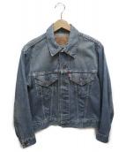 LEVIS(リーバイス)の古着「[古着]70-80sデニムジャケット」 ブルー