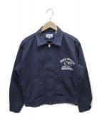 SUGAR CANE((シュガーケーン)の古着「ジップアップジャケット」|ネイビー