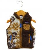 Patagonia(パタゴニア)の古着「Baby's Retro-X Vest」|ブラウン