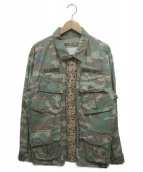 Denim & Supply Ralph Lauren(デニム&サプライ ラルフローレン)の古着「ジャングルファティーグジャケット」|グリーン