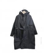 F/CE.(エフシーイー)の古着「WRAP DOUBLE BRESTED COAT」|ブラック