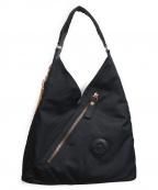 Kipling(キプリング)の古着「ナイロンワンショルダーバッグ」 ブラック
