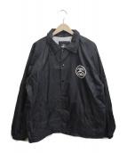 ()の古着「[古着]90sロゴコーチジャケット」|ブラック