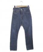 LEVIS(リーバイス)の古着「セルビッチデニムパンツ」 ブルー