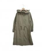 B:MING LIFE STORE(ビーミングライフストア)の古着「フーデッドコート」 カーキ