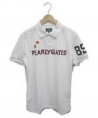PEARLY GATES(パーリーゲイツ)の古着「ポロシャツ」|ホワイト
