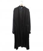 GOOD DESIGN SHOP COMME des GAR(グッドデザインショップコムデギャルソン)の古着「スタッフコート」 ブラック