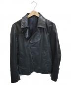 PS Paul Smith(PSポールスミス)の古着「ライダースジャケット」|ブラック