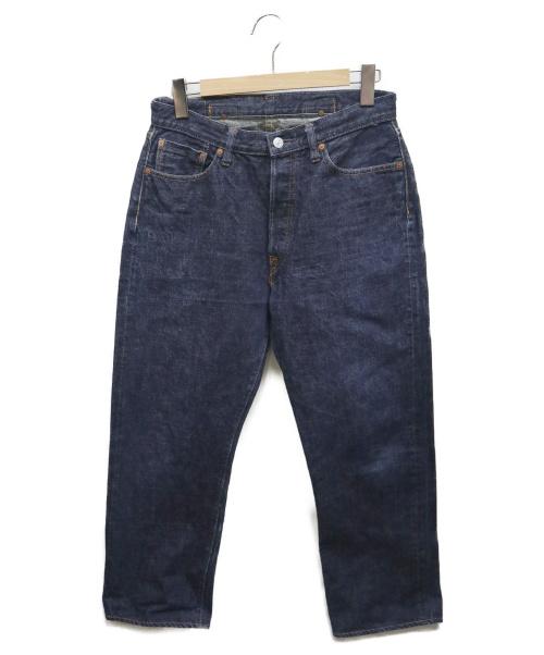 DENIME(ドゥニーム)DENIME (ドゥニーム) セルビッチデニムパンツ ブルー サイズ:W32 旧ドゥニーム LOT:B218 オリゾンティ表記前の古着・服飾アイテム