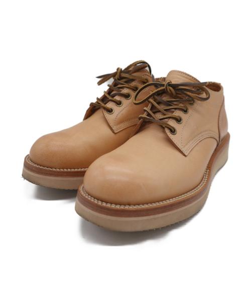 Locking shoes(ロッキンシューズ)locking shoes (ロッキンシューズ) 5HOLE OXFORD SHOES ナチュラルタン サイズ:7の古着・服飾アイテム