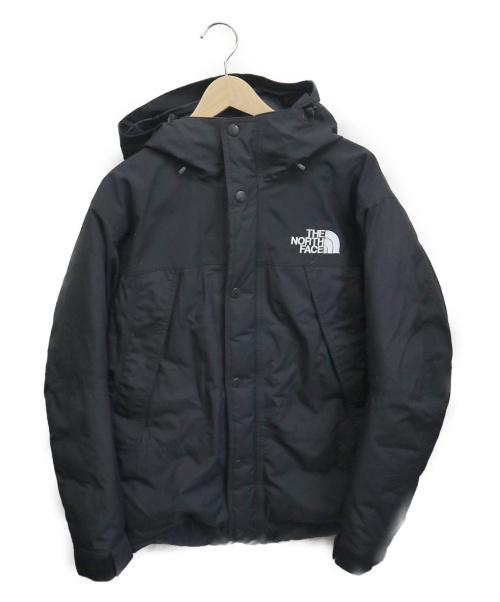 THE NORTH FACE(ザ ノース フェイス)THE NORTH FACE (ザノースフェイス) Mountain Down Jacket ブラック サイズ:Mの古着・服飾アイテム