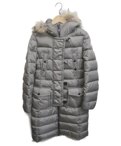 MONCLER(モンクレール)MONCLER (モンクレール) GENEVRIERダウンコート グレー サイズ:00の古着・服飾アイテム