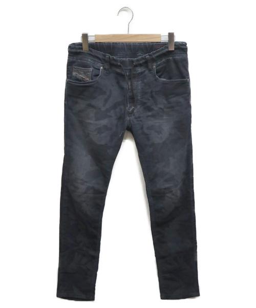 DIESEL(ディーゼル)DIESEL (ディーゼル) ジョグデニムパンツ インディゴ サイズ:30 カモフラージュの古着・服飾アイテム
