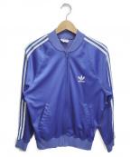 adidas(アディダス)の古着「[古着]80sトラックジャケット」|ブルー