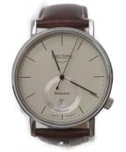 BRUNO SOHNLE(ブルーノ・ゾンレー)の古着「グラスヒュッテ自動巻き腕時計」