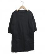 FWk Engineered Garments(エフダブリューケーエンジニアードガーメンツ)の古着「立体裁断ワンピース」|ブラック