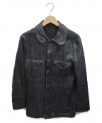 TORNADO MART(トルネードマート)の古着「レザージャケット」|ブラック