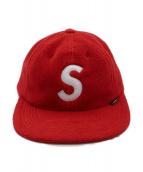 Supreme(シュプリーム)の古着「ポーラテックSロゴ6パネルハット」|レッド