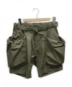 Comfy Outdoor Garment(コンフィーアウトドアガーメンツ)の古着「アクティビティーショーツ」|グリーン