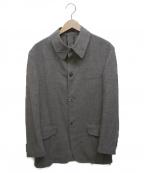 Paul Smith COLLECTION(ポールスミスコレクション)の古着「ハーフ丈シングルジャケット」 グレー
