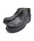 REPLAY(リプレイ)の古着「サイドジップブーツ」|ブラック