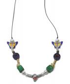 ()の古着「Smiley Necklace」|ブラック