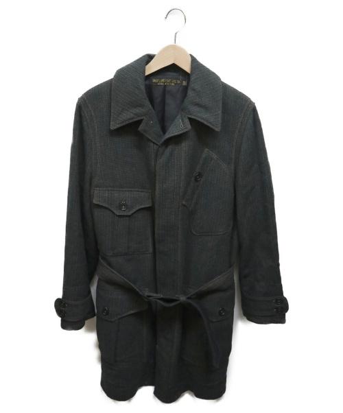 freewheelers(フリーホイーラーズ)freewheelers (フリーホイーラーズ) エンジニアクローズサックコート グレー サイズ:38の古着・服飾アイテム