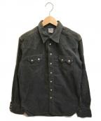THE REAL McCOY'S()の古着「コーデュロイシャツ」|グレー