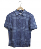 Errico Formicola(エリコフォルミコラ)の古着「プルオーバーシャツ」|ネイビー