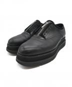 foot the coacher(フットザコーチャー)の古着「GLOXI ZIP SHOES」 ブラック