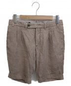 GABRIELE PASINI(ガブリアルパジーニ)の古着「ショートパンツ」|ブラウン