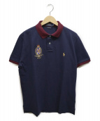 POLO RALPH LAUREN(ポロ・ラルフローレン)の古着「ポロシャツ」|ネイビー