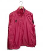 PEARLY GATES(パーリーゲイツ)の古着「ナイロンジャケット」|ショッキングピンク