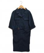 RIVE DROITE(リヴドロウ)の古着「ジップコート」 ネイビー