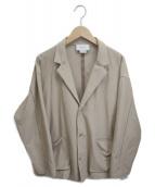 ()の古着「ジャケットカーディガン」|ベージュ