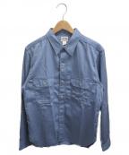 Joe McCOY(ジョーマッコイ)の古着「8アワーユニオンワークシャツ」|ブルー