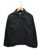 BLACK SIGN(ブラックサイン)の古着「ジップスポーツジャケット」|グレー