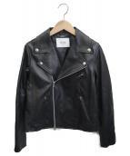 SLOBE IENA(スローブ イエナ)の古着「ラムレザージャケット」|ブラック