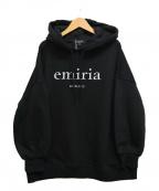 EmiriaWiz(エミリアウィズ)の古着「ロゴプルオーバーパーカー」|ブラック