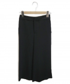 M-premierBLACK(エムプルミエブラック)の古着「フレアワイドパンツ」 ブラック