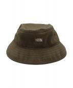 THE NORTHFACE PURPLELABEL(ザノースフェイスパープルレーベル)の古着「Cotton Twill Field Hat」|グリーン