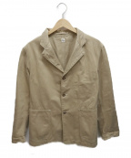 KAPTAIN SUNSHINE(キャプテンサンシャイン)の古着「マオカラージャケット」|ベージュ