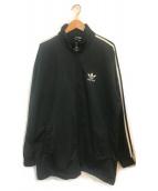 ()の古着「ビンテージトラックジャケット」 ブラック