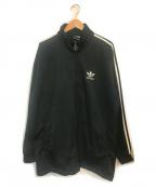 adidas(アディダス)の古着「ビンテージトラックジャケット」 ブラック