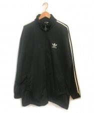 adidas (アディダス) ビンテージトラックジャケット ブラック サイズ:L